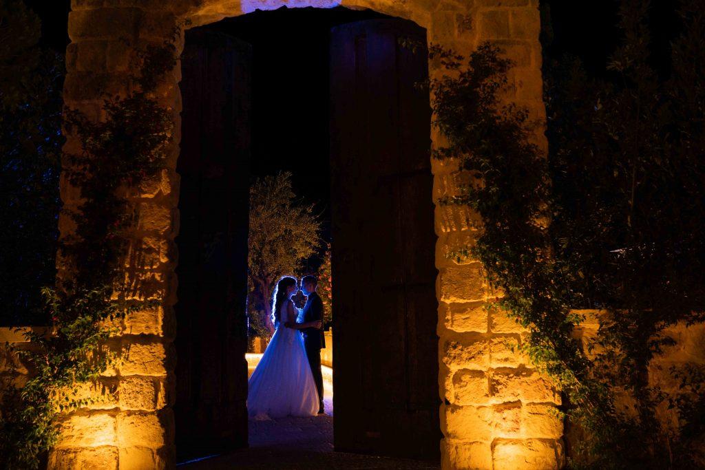 Matrimonio al giardino del mago in Puglia