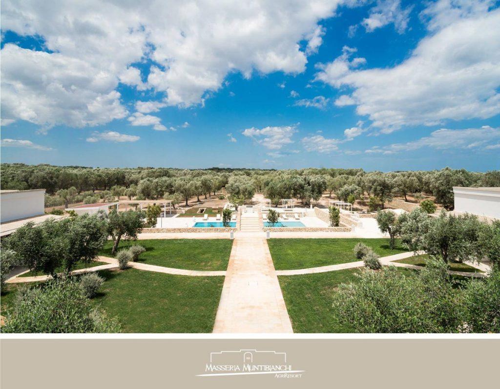 Masseria Muntibianchi a wedding venue in Puglia