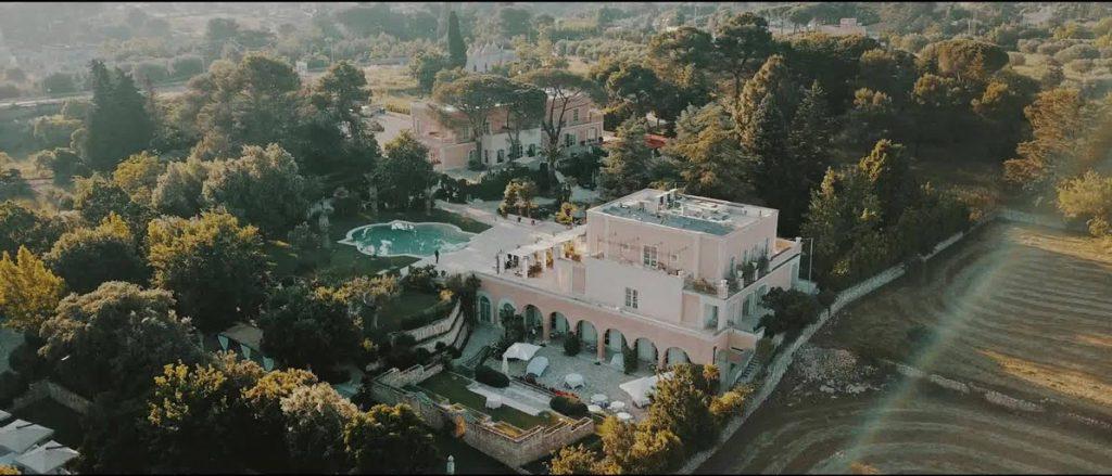 Willa San Martino wedding venue in in Puglia